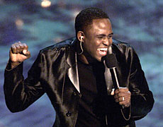 Wayne Brady was a solid choice as MC for the evening, despite an over-reliance on the autocue.