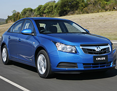 GM's new Holden Cruze over-delivers for the price. Photo / Supplied