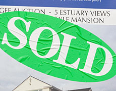 The average Auckland regional house sale price decreased from $486,986 to $483, 397 over the course of the year. Photo / Paul Estcourt