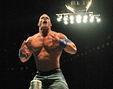 Kiwi fans had waited a long time to see WWE's John Cena in action. Photo / Troy Rawhiti-Forbes