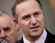 John Key says he doesn't want to see ministers travelling for no particular reason. Photo / Mark Mitchell