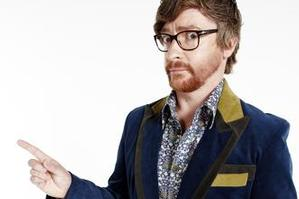 Comedian Rhy Darby has been drafted for a 2degrees advertising campaign. Photo / Supplied