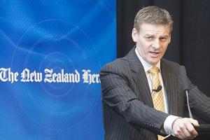 Finance Minister Bill English. Photo / Paul Estcourt