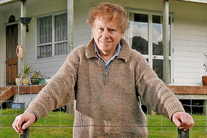 Bruce Burgess owns properties in Helensville, Papakura and Auckland City. Photo / Greg Bowker