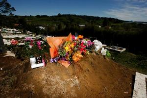 James Takamore's grave at Opotiki. File photo / Dean Purcell