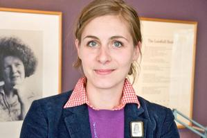 Eleanor Catton has won praise for her debut novel,  The Rehearsal . Photo / Supplied