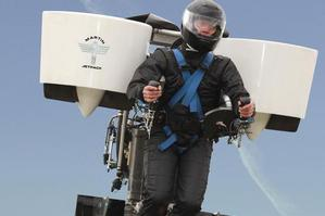 The Martin Jetpack has generated significant buzz at a leading United States airshow. Photo / Martin Aircraft Company Limited