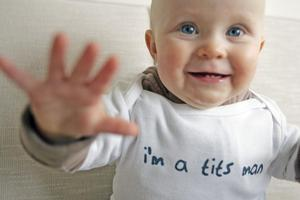 Family groups say the controversial T-shirts unnecessarily sexualise children. Photo / Herald on Sunday