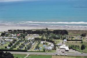 The owners of the Tirohanga Motor Camp thought a developer would appear with a good offer. Photo / Supplied