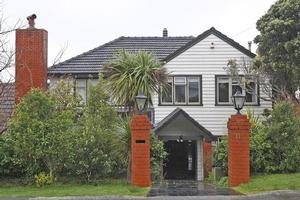 Bill English has lived in this Wellington house with his family for two years. Photo / Mark Mitchell