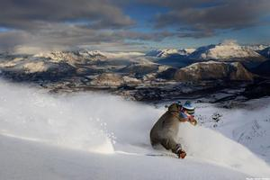 Coronet Peak is a perfect venue for skiers of all skill levels. Photo / Supplied