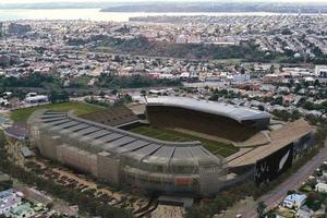 A revamped Eden Park could host the opening and closing ceremonies. Photo / Doug Sherring