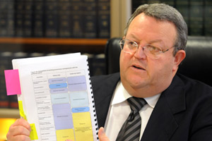 Energy and Resources Minister Gerry Brownlee. Photo / NZPA