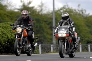 Motorcyclists will have to have their headlights on day and night. Photo / Herald on Sunday