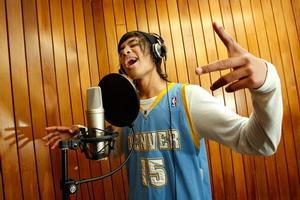 Rapper Steezy (Aynsley Malase) is part of the Tangaroa College programme. Photo / Brett Phibbs