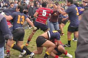John Key says that incidents like the brawl between Kelston Boys and AGS discourage people from taking part in sport. Photo / Murray Job, Sky Sport
