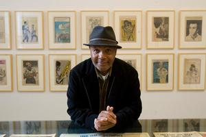 American artist Emory Douglas who created striking graphic images that came to represent the Black Panther Party in the USA during the 1960s and 1970s. Photo / Dean Purcell