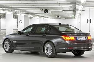 BMW 7 Series High Security. Photo / Supplied