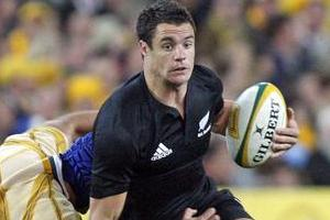 Dan Carter guided the All Blacks to a rare win in Sydney. Photo / Getty Images