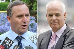 John Boscawen (R) says John Key will be making a big mistake if he ignores the 87% of referendum voters who opposed the present smacking law. Photos / Mark Mitchell, Richard Robinson
