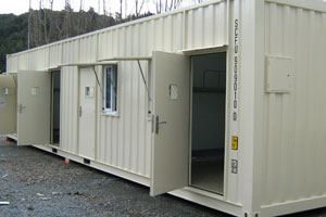One of the units to be installed at Rimutaka Prison. Photo / NZPA