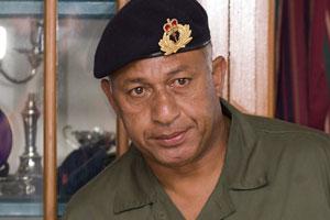 Fiji Prime Minister Frank Bainimarama. Photo / Greg Bowker