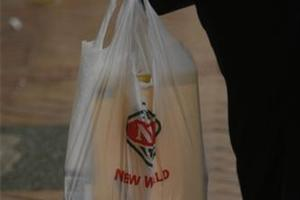 Foodstuffs has pulled back from its policy to levy a compulsory charge for plastic bags. Photo / Glenn Jeffrey.