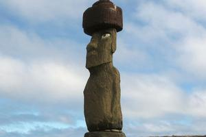 Easter Island's Rapa Nui Moai big head statue. Photo / Supplied, flickr.com