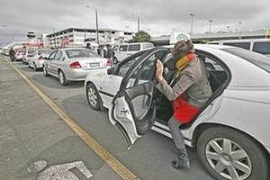 A taxi ride between terminals at Auckland Airport costs $30. Photo / Herald on Sunday