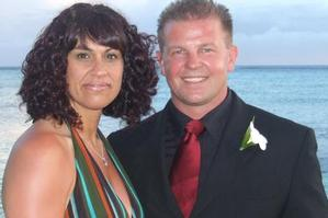 Eileen Tamati's husband Kent Martin was killed by a drugged-up driver last year. Photo / Supplied