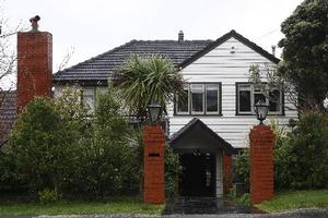 Bill English and wife Mary English's house in Karori in Wellington. Photo / Mark Mitchell