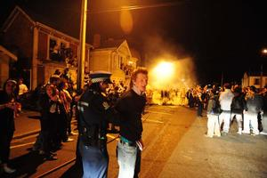 The annual Undie 500 rally between Christchurch and Dunedin has been axed following last week's riots. Photo / Otago Daily Times