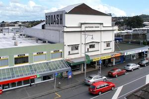 The 1920s-built Southern Cross Cinema building offers 980sq m of floor space over three levels. Photo / Supplied