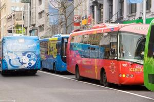 Buses in the Auckland region carry six times the number of passengers trains do. Photo / Paul Estcourt