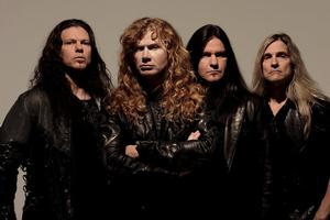 On tour in Auckland on Monday, Megadeth lead singer Dave Mustaine says he is making amends with old enemies from over the years. Photo / Supplied by Roadrunner