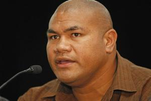 Heavyweight boxer David Tua is preparing to fight Shane Cameron on Saturday. Photo / Kenny Rodger
