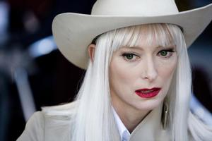 Tilda Swinton in The Limits of Control. Photo / Supplied