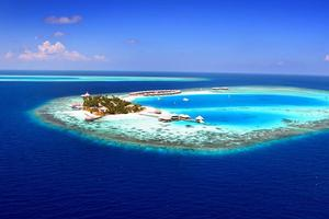 Most of the Maldives is around a metre above sea level, making it a likely victim of rising sea levels. Photo / Supplied