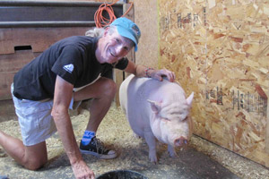 Realist: Marc Bekoff says people are always going to raise animals and keep pets, but they must be looked after and understood. Photo / Supplied