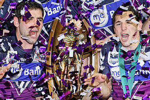 The Melbourne Storm's grand final victory completes one of the most unpredictable NRL seasons in recent memory. Photo / Getty Images