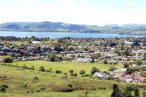The panoramic views of Rotorua and the lake from the gondola are spectacular. Photo / Daily Post