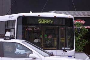 Auckland's buses may now have a tough job to win back the public. Photo / Kenny Rodger