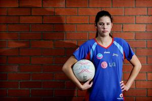 Kayla Cullen will be the baby of the team. Photo / Greg Bowker