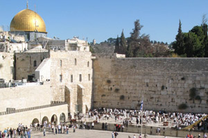 Jerusalem is a city brimming with religious significance. Photo / Roger Hall