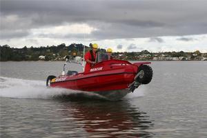 Sealegs new rescue boat.