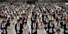 View: Unification Church holds largest mass wedding in 10 years
