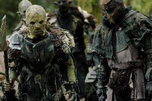 The orcs resurface in online movie The Hunt for  Gollum. Photo / Supplied