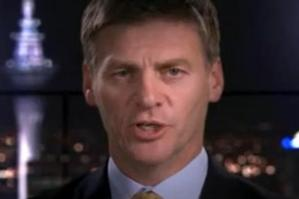 Bill English in TVNZ 7's 'Focus on the Economy' show.