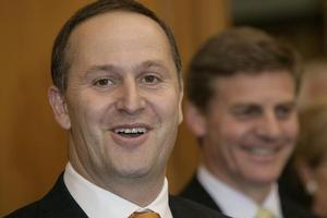Prime Minister John Key's minority National Government has received a ringing endorsement from voters for its handling of the international financial crisis. Photo / Mark Mitchell