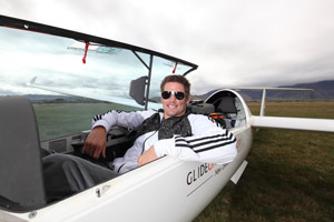 Gliding All Black Richie McCaw. Photo / Supplied